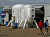 NASA inflatable exhibits at EAA AirVenture 2009