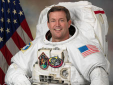 Portrait of Astronaut Michael Foreman in flight suit