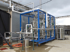 Propellant conditioning feed system skid