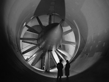 The Altitude Wind Tunnel as it was built in 1944.