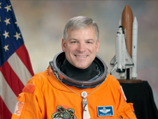 portrait of astronaut Greg Johnson