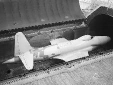 Lockheed YP-80A in the Altitude Wind Tunnel 1945