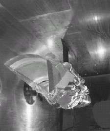 Parametric Inlet testing in Supersonic Wind Tunnel.