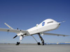 New communications being designed at NASA Glenn will communicate between ground and uav's such as this aircraft.