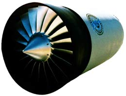 The revolutionary FJX-2 turbofan engine developed in the GAP program.