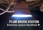 Rocket engine test at Plum Brook