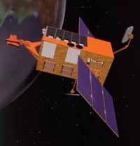 Image of the RXTE Satellite.
