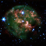Image of a dying star