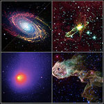 Images from the Spitzer telescope