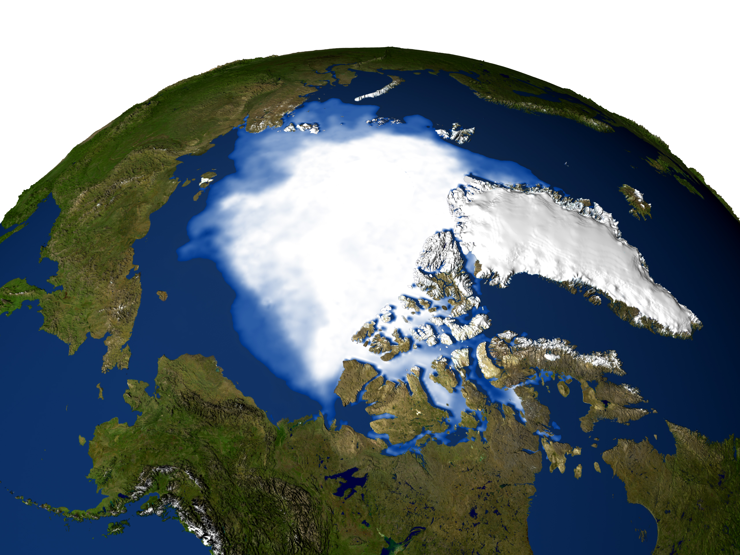 polar ice cap nasa - photo #20