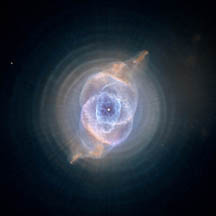 Hubble image of Cat's Eye nebula