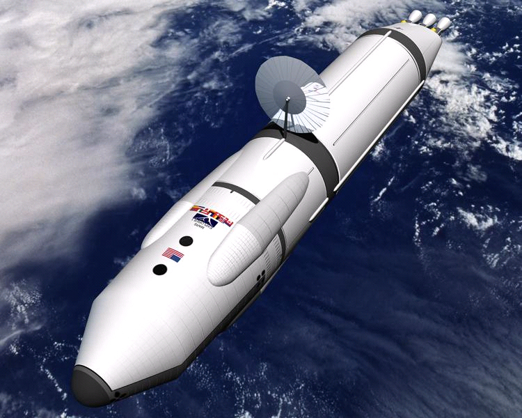 Nasa Spaceship Design Nuclear-thermal rocket design