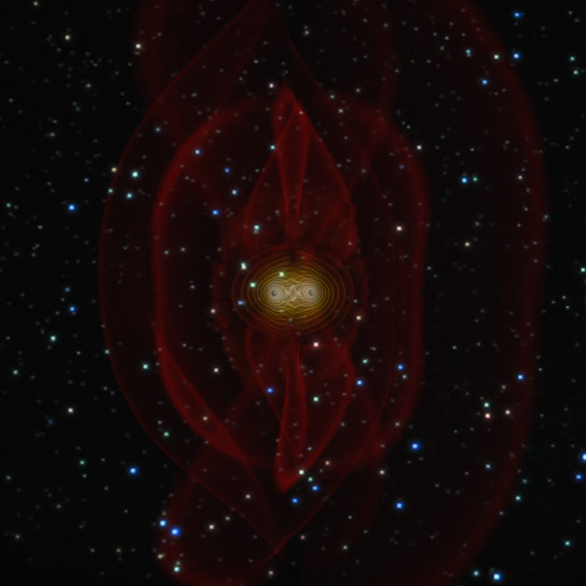 NASA - NASA Achieves Breakthrough In Black Hole Simulation