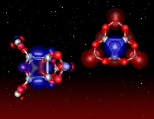 The structure of two recently discovered silicon oxide nanoparticles, their properties provide a formation mechanism for larger silicates and are a potential source of luminescence in the interstellar medium.