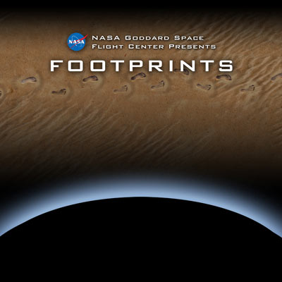 Poster from the Footprints exhibit