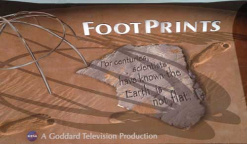 Image of the Footprints banner