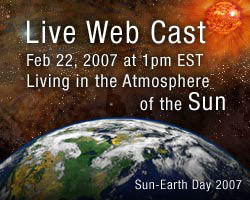 Promo for the Sun Earth day webcast
