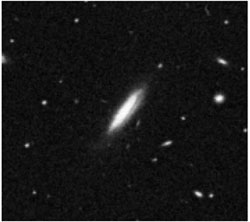 Image of a galaxy from the Digitized Sky Survey