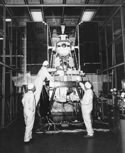 The Nimbus-7 spacecraft carried the first TOMS instrument in 1978.