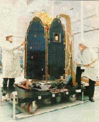 Preparations are made to the final TOMS mapping instrument, which launched in 1996 and was decommissioned in May 2007
