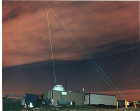 Laser ranging at Goddard observatory