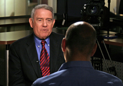 Dan Rather and Waleed Abdalati