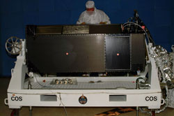 Image of Cosmic Origins Spectrograph for the future Hubble servicing mission 4.