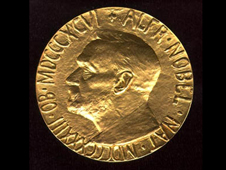 The Nobel medal
