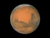 Hubble image of Mars taken in December 2007