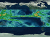 Visualization of La Nina effects on the Pacific Ocean