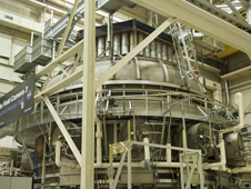 Photo of the Goddard Thermal Vacuum Chamber