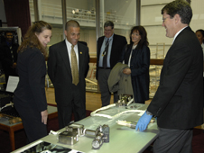 Md. Lt. Gov. Brown at Goddard
