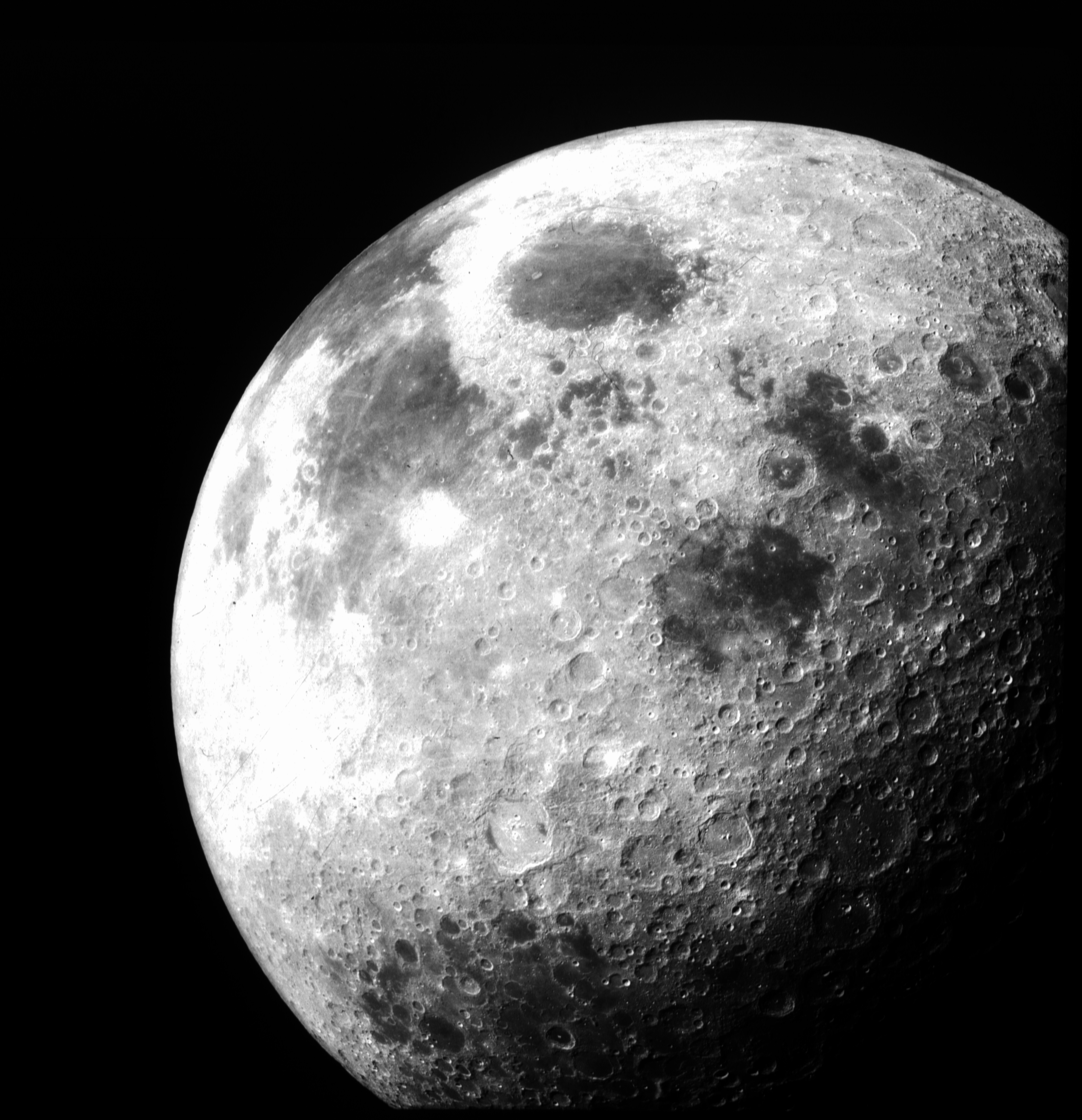 The Moon, courtesy of NASA