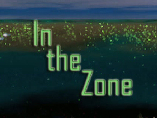 video screen shot with title: In the Zone