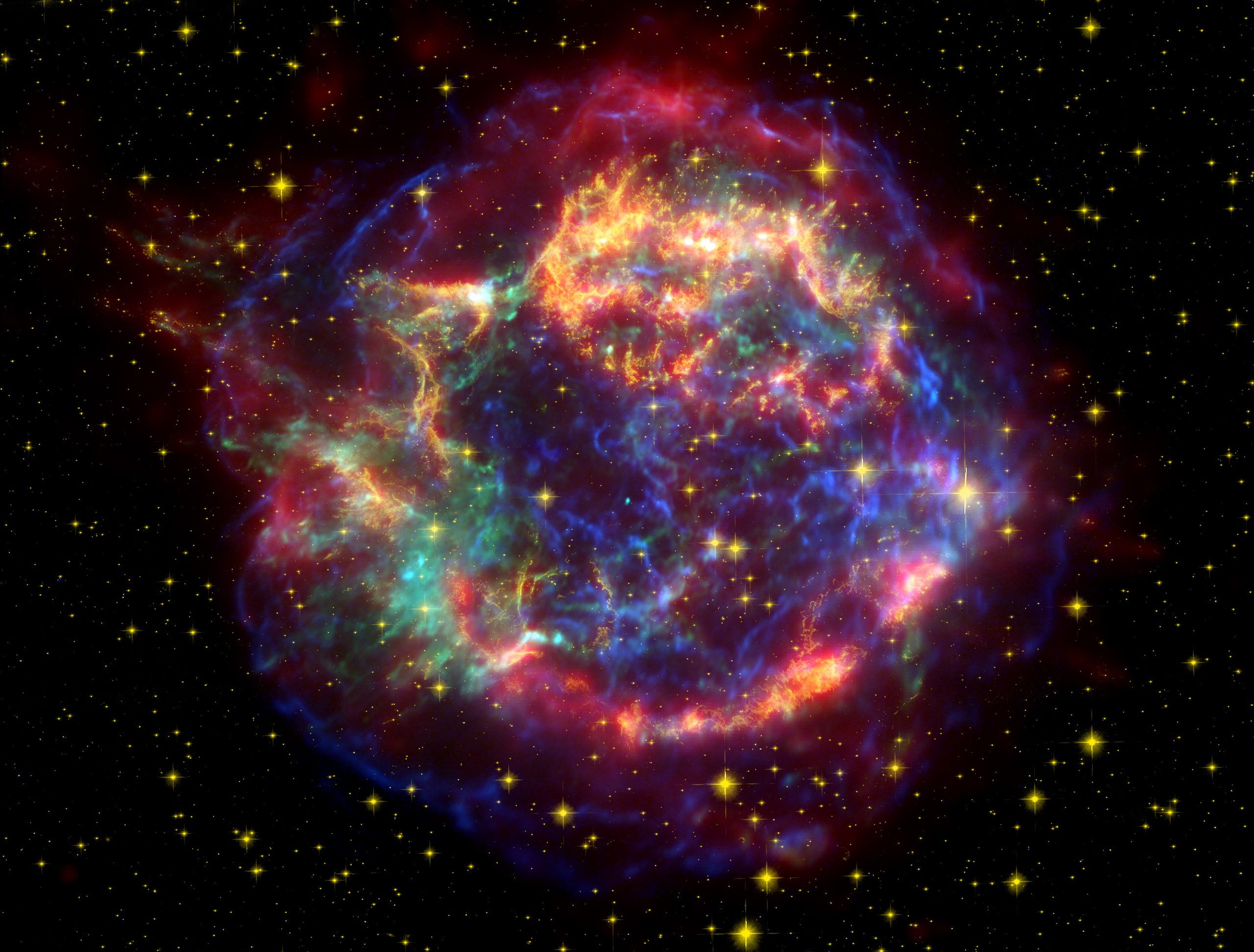 NASA   Infrared Echoes Give NASAs Spitzer a Supernova Flashback