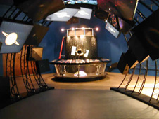 The HST and JWST exhibit