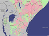 Risk-assessment map for Rift Valley Fever