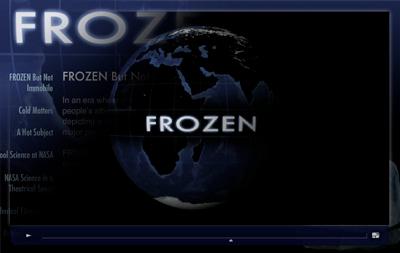 Frozen interactive image