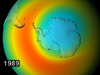 artist concept of 1989 ozone hole