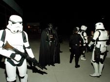photograph of Darth Vader and stormtroopers