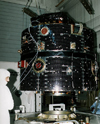 The Polar satellite under construction. Polar was one of several satellites included in the International Terrestrial Program effort to look at Sun-Earth connections.