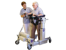 Based on a Goddard-developed prototype, Enduro Medical Technology's revolutionary walker, the Secure Ambulation Module (SAM), allows physical therapy patients to stand and walk safely without the aid of therapists.