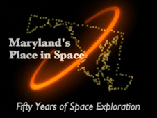 Maryland's Place in Space logo graphic