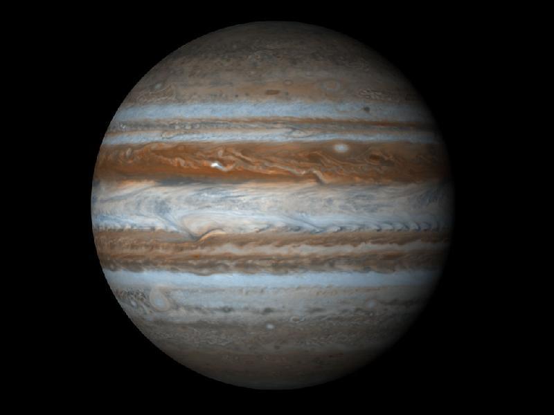 V blízkosti planety Jupiter se nachází planetka s ocasem podobným kometě