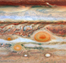 A new red spot appears on Jupiter