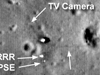 LROC image of Apollo 11 landing site