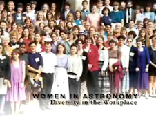Still from Women in Astronomy Conference video
