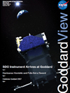 Cover of Goddard View, Vol. 3, Issue 12