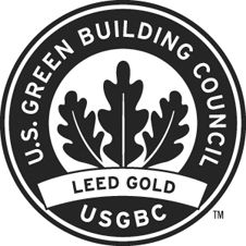 Leed Gold Building Certfication logo