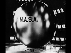 NASA's first communication satellite, Echo, was a giant mylar balloon